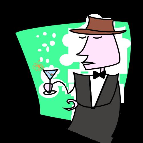 Cocktail Soiree Clipart by fabbazattt on DeviantArt.