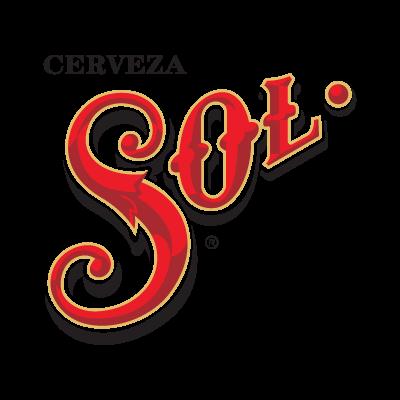 Cerveza Sol logo vector download free.