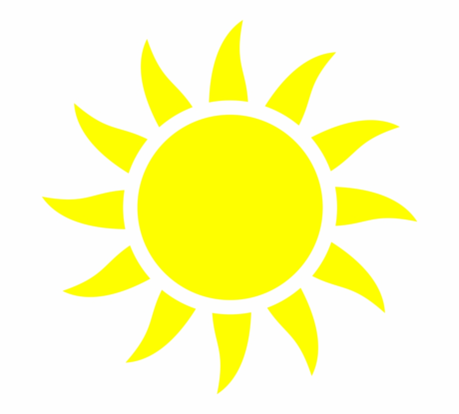 Half Of A Yellow Sun Computer Icons.