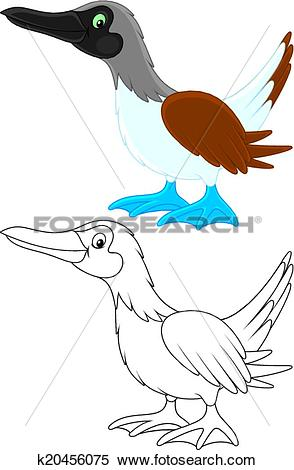 Clipart of Solan k20456075.