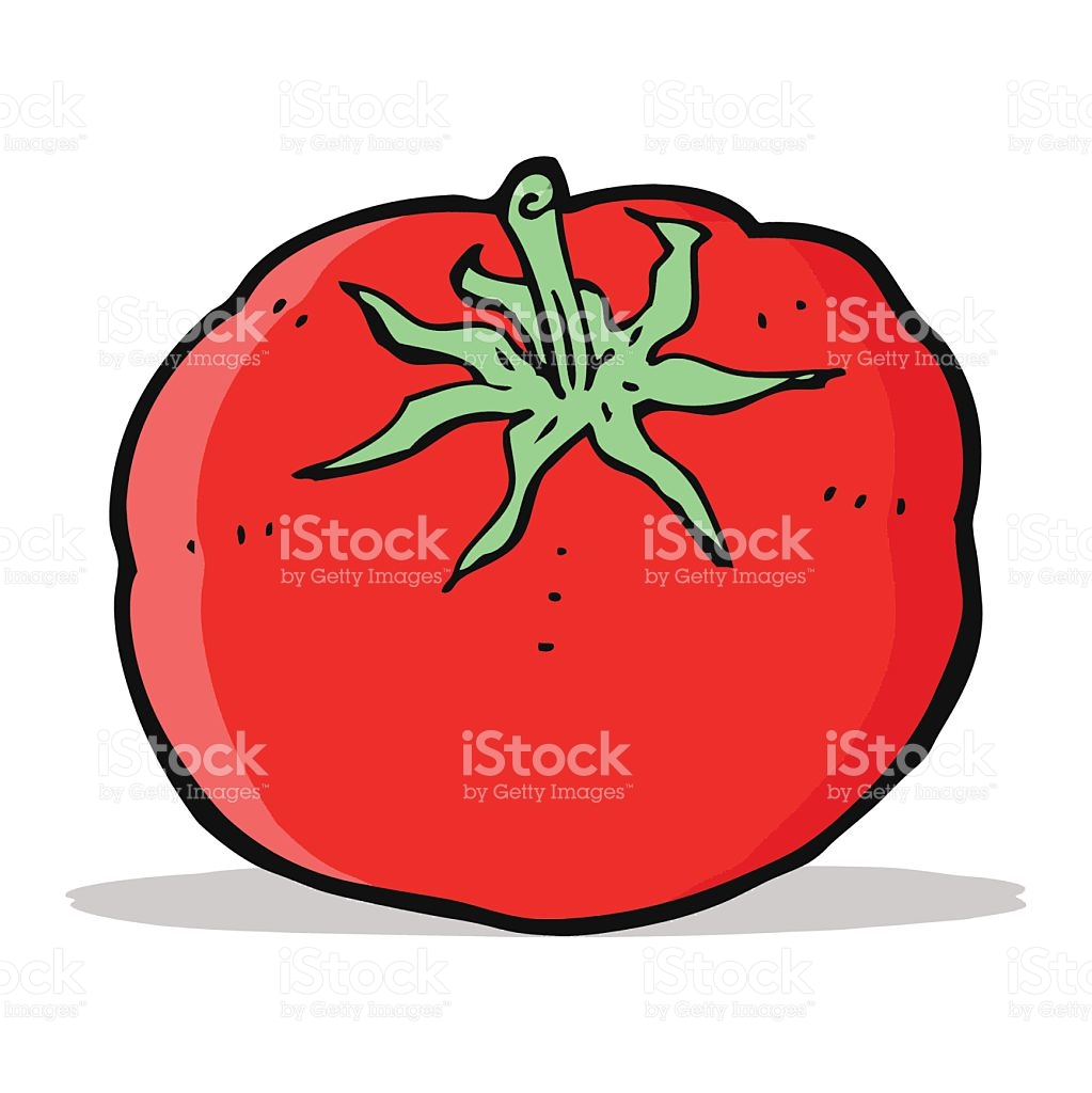 Cartoon Tomato stock vector art 500178735.