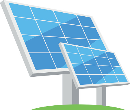 Free Solar Panel Clipart Black And White, Download Free Clip.