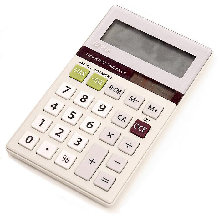 solar calculator.