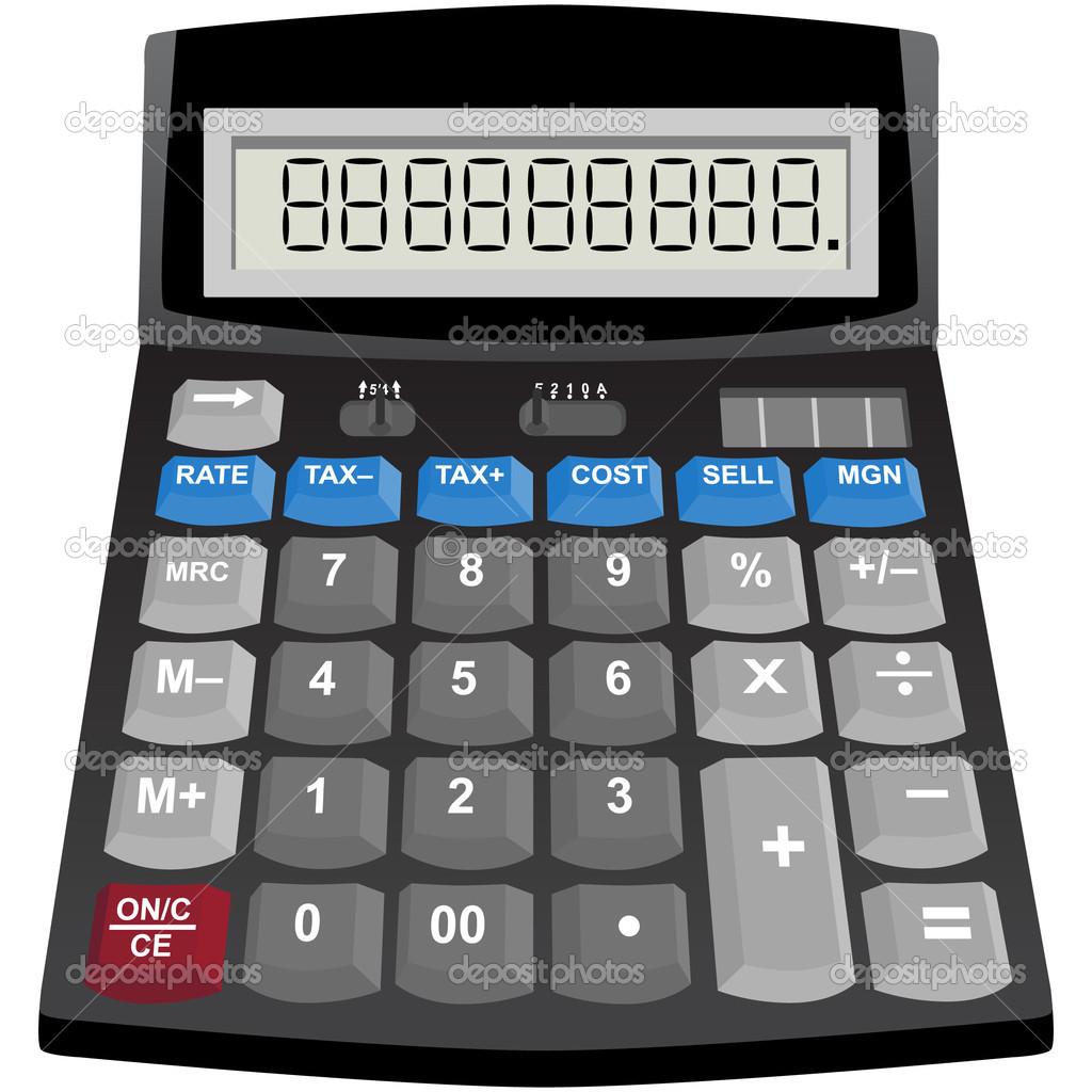 Solar Powered Calculator — Stock Vector © cteconsulting #3986110.