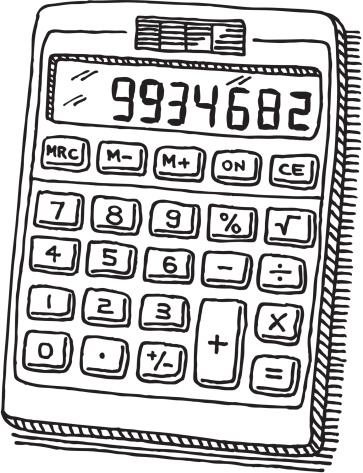 No calculator clipart.