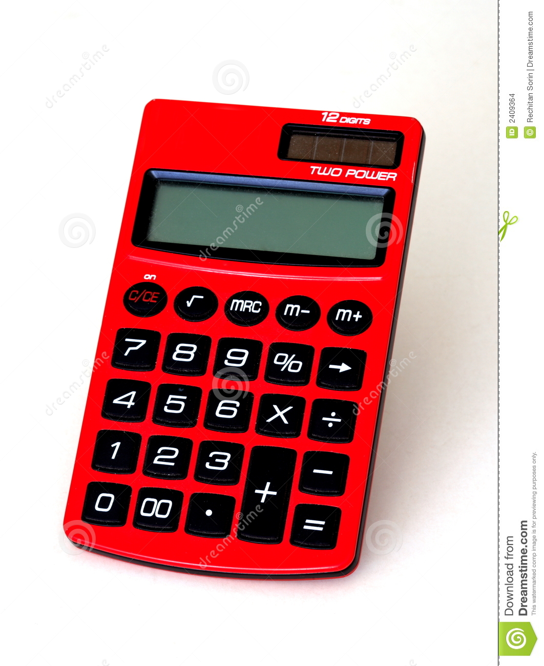 Old Solar Calculator Stock Images.