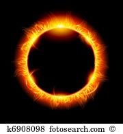 Solar eclipse Clipart Illustrations. 461 solar eclipse clip art.