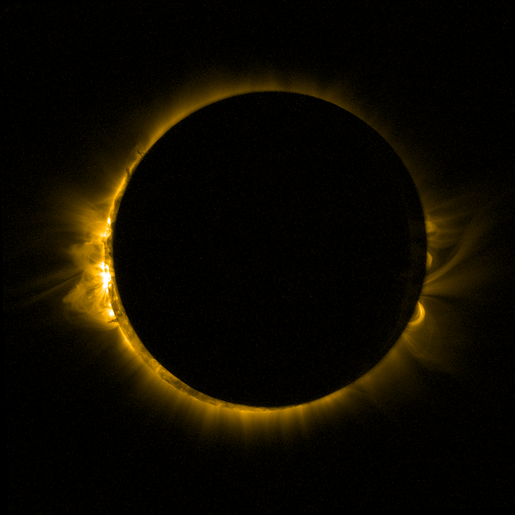 PROBA2 Views a Total Solar Eclipse.