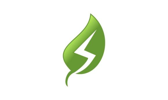 Solar energy panel logo vector.