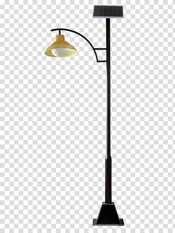 Solar street light Solar lamp, The street lights in the park.