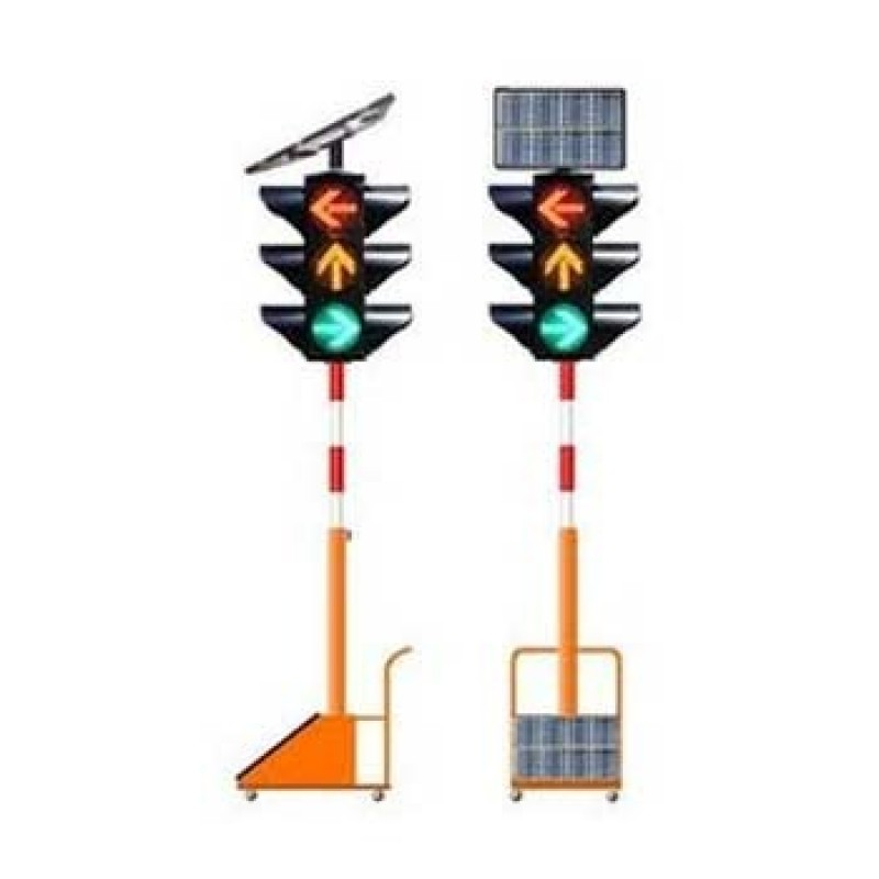 mobile solar traffic lights Factory direct sales Solar.