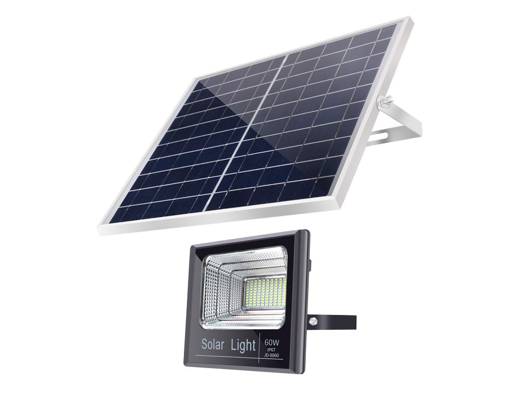 60 Watt Solar Floodlight.