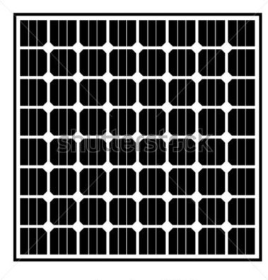 Solar Panel Clipart Black And White 20 Free Cliparts