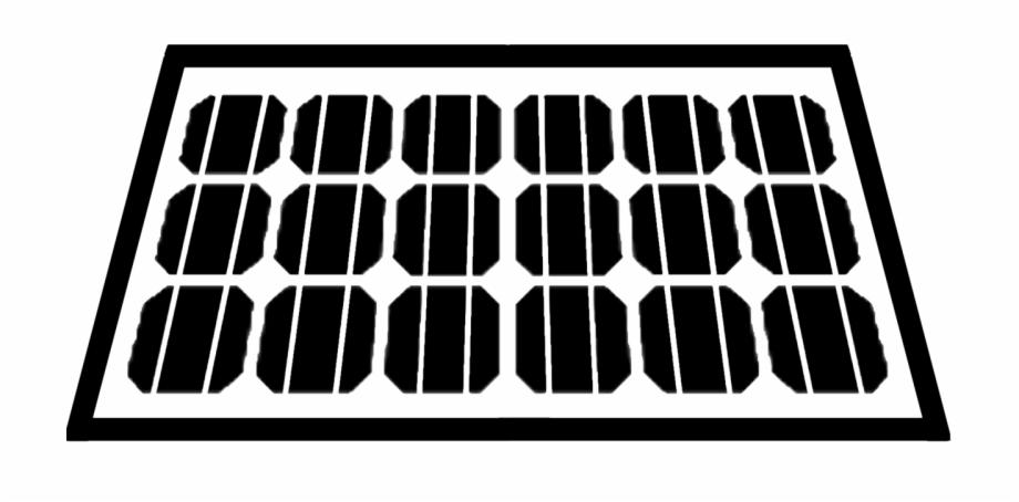 Solar Panel Icon Mesh.