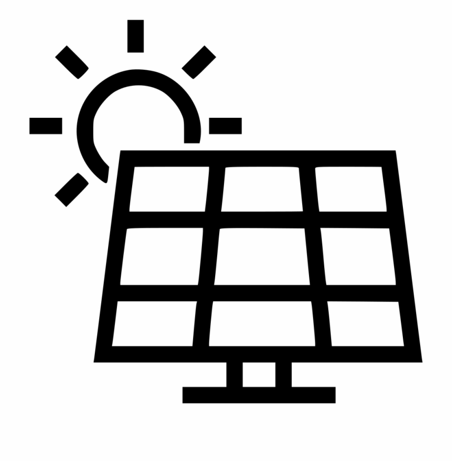 Solar Panel Svg Png Icon Free Download Vector.