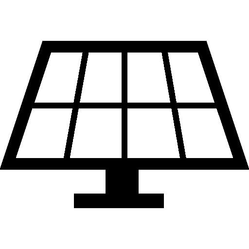 Solar panel Icons.