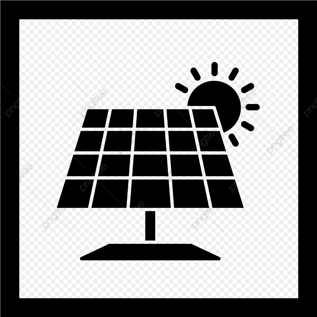 Vector Solar Panel Icon, Solar Panel, Solar Energy, Solar.