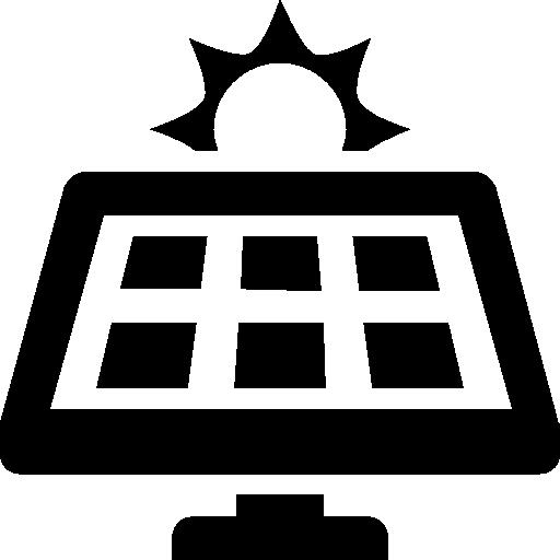Industry Solar Panel Icon.