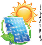 Solar Panel Clip Art.