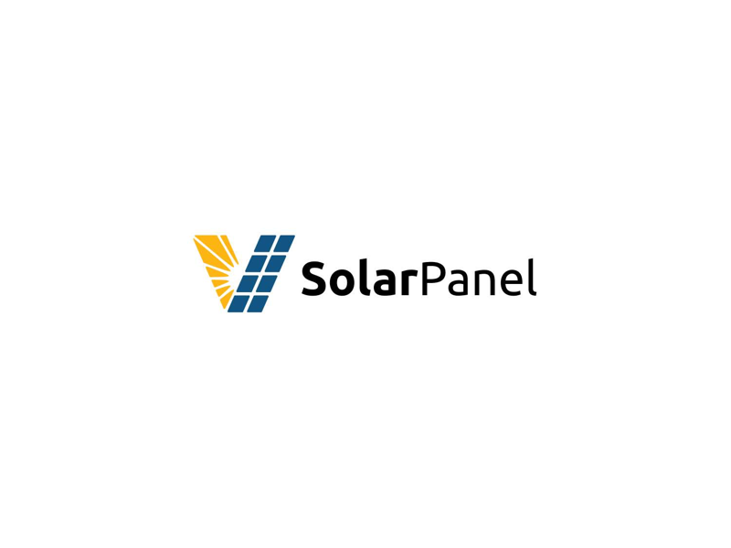 Solar panel logo by rengga ryandah on Dribbble.
