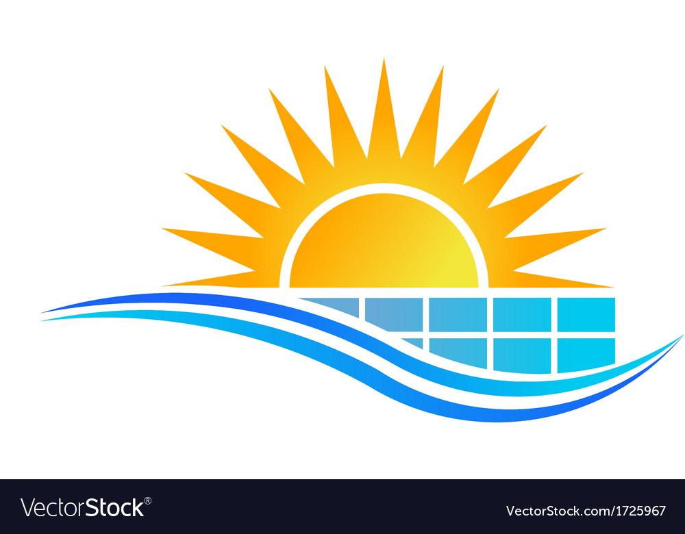 Solar Panel Logo.