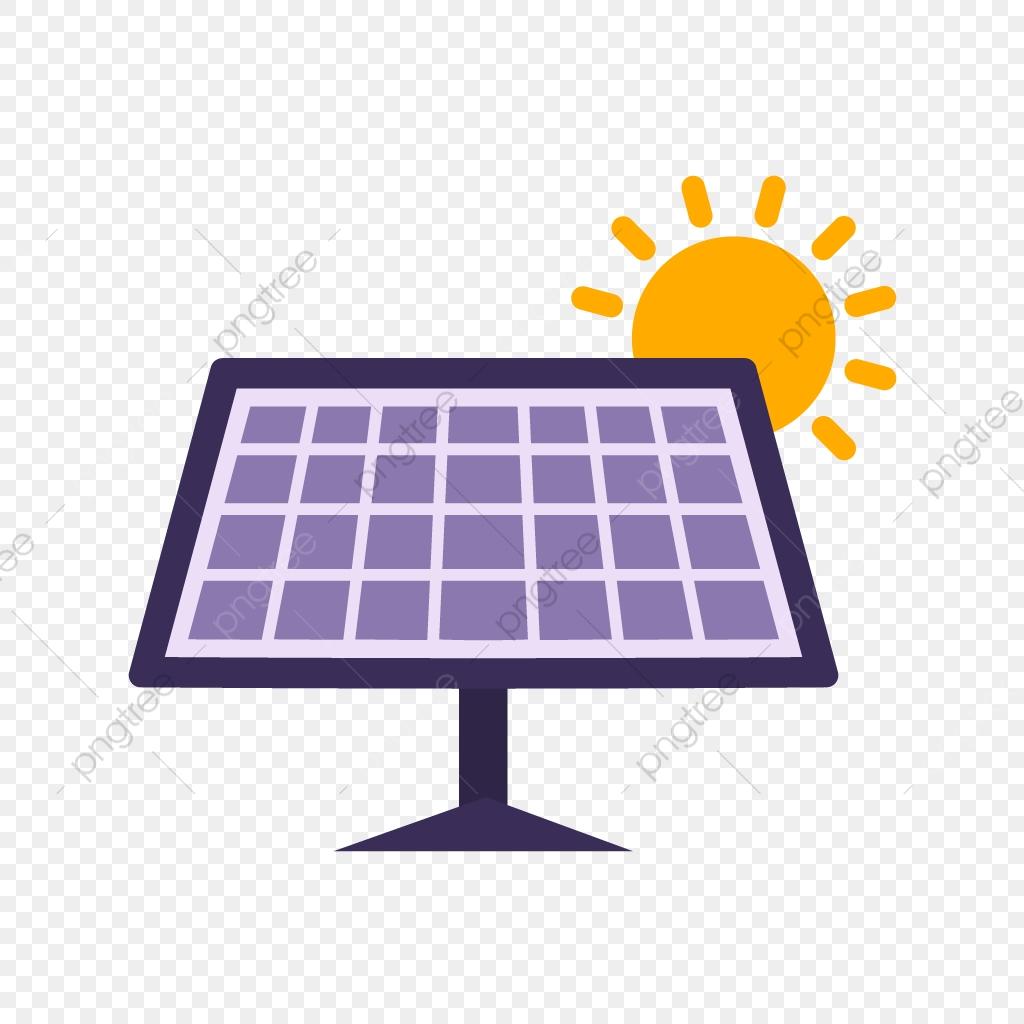 Solar Panel Vector Icon, Solar Panel, Solar Energy, Solar.