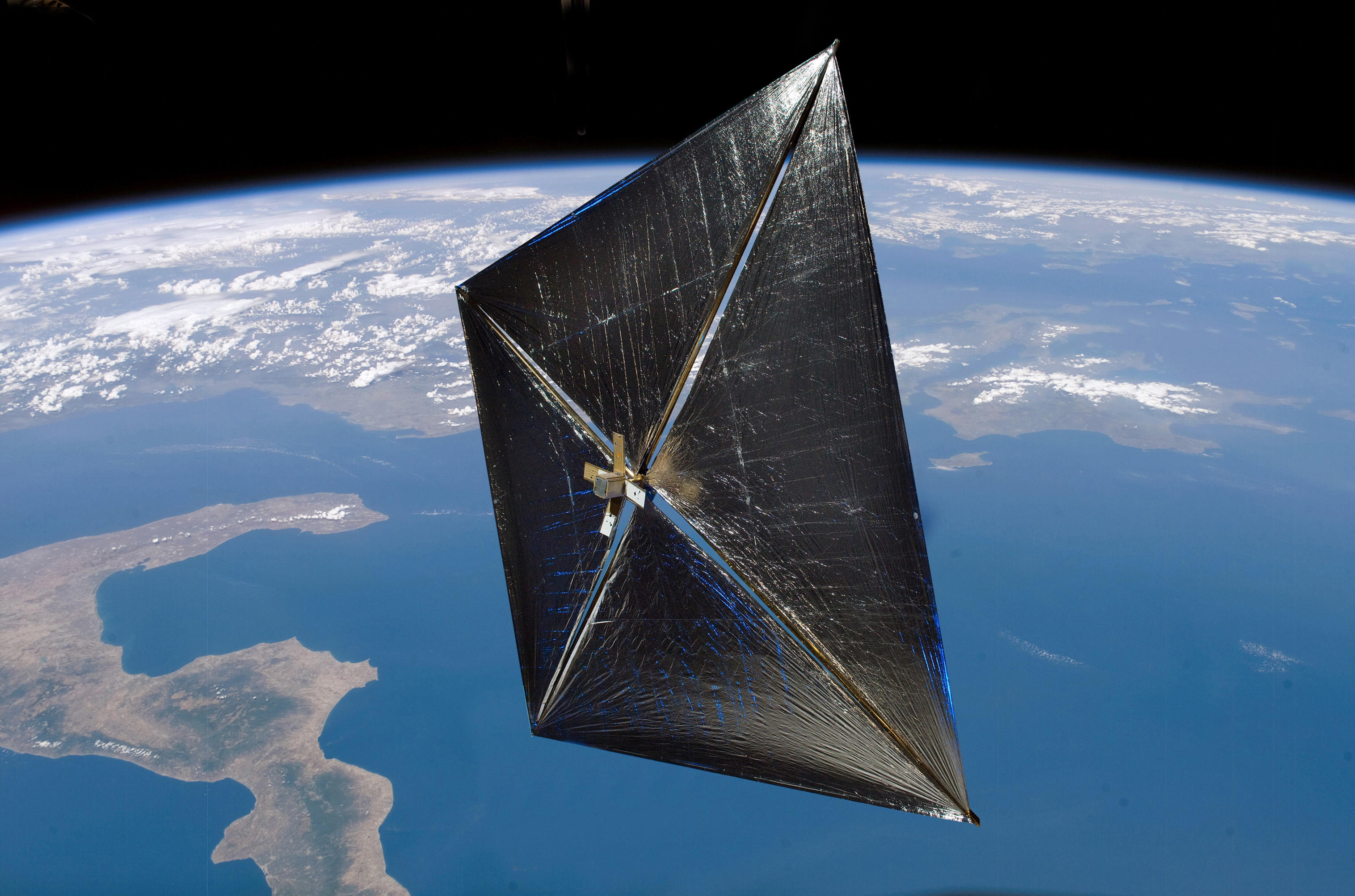 Discovering Solar Sails.