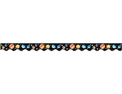 Teacher Created Resources Solar System Border Trim, Multi Color (4600).