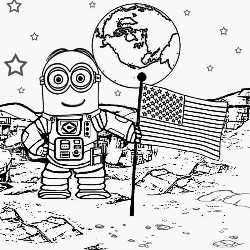 Walking on the moon astronaut.