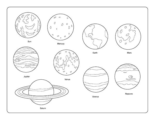 Red solar system clip art at vector clip art.