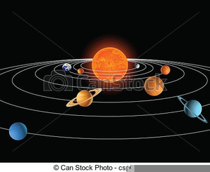 Animated Solar System Clipart.