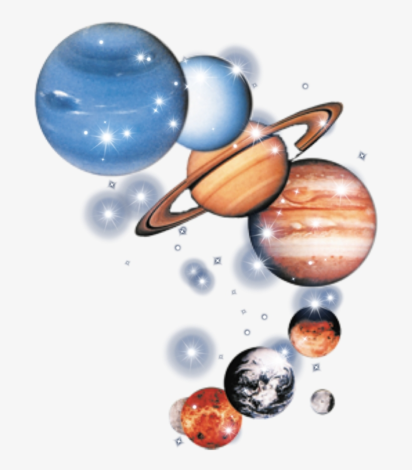Download Free png Planet Space Mars Stars Glitter Solar.
