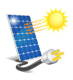 Photovoltaic Solar Panels, Solar Panel Free Clipart.