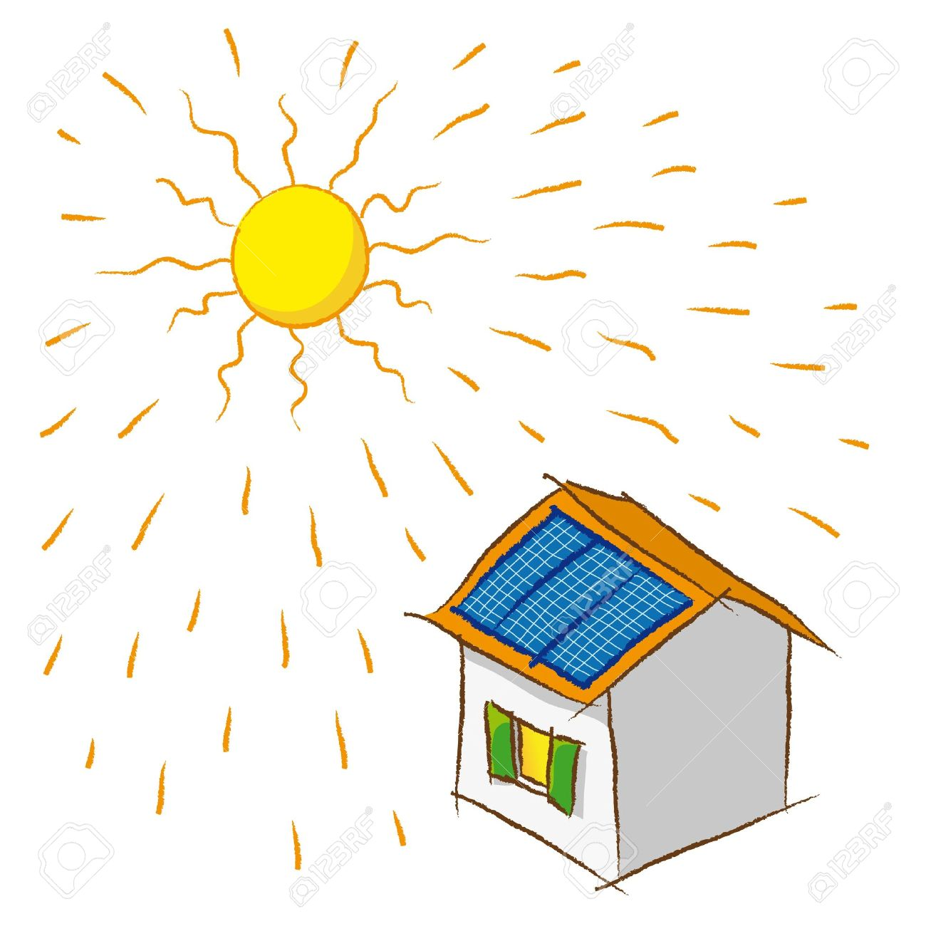Solar Energy Royalty Free Cliparts, Vectors, And Stock.