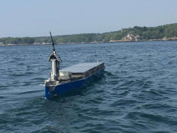 Autonomous solar powered boat all set to make history with journey.