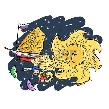 Solar Umbrella Stock Illustrations, Cliparts And Royalty Free.