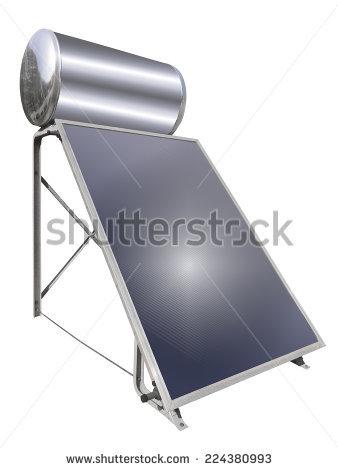Solar Hot Water Stock Photos, Royalty.