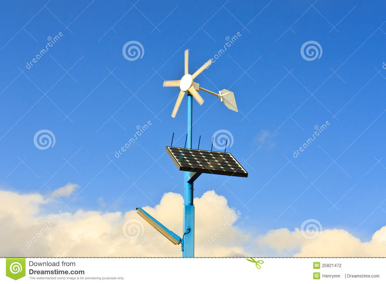 Solar And Wind Energy Clipart.