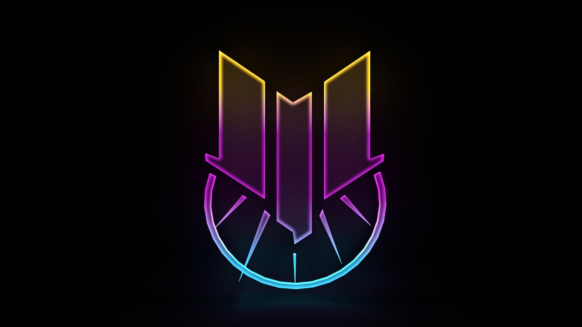 Solaris United logo made in Blender : Warframe.