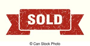 Sold speech bubble. sold sign. sold banner..