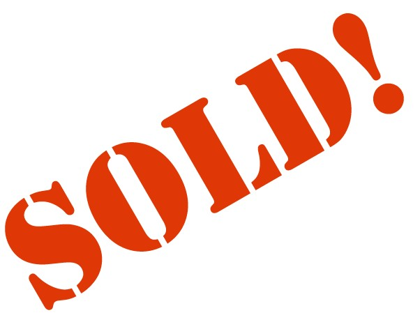 Sold Sign Clipart.