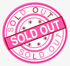 Sold Out PNG Images, Transparent Sold Out Image Download.