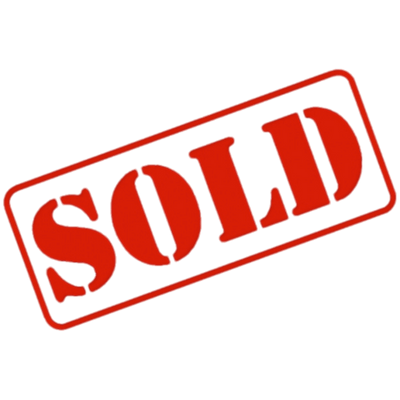 Sold Sign transparent PNG.