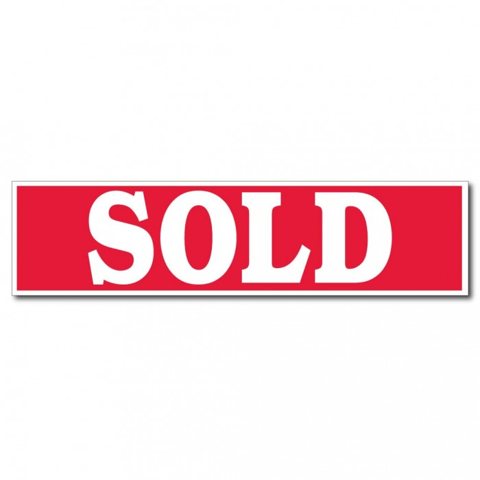 Image of Sold Sign Clipart #2309, Sold Sign Clipart.