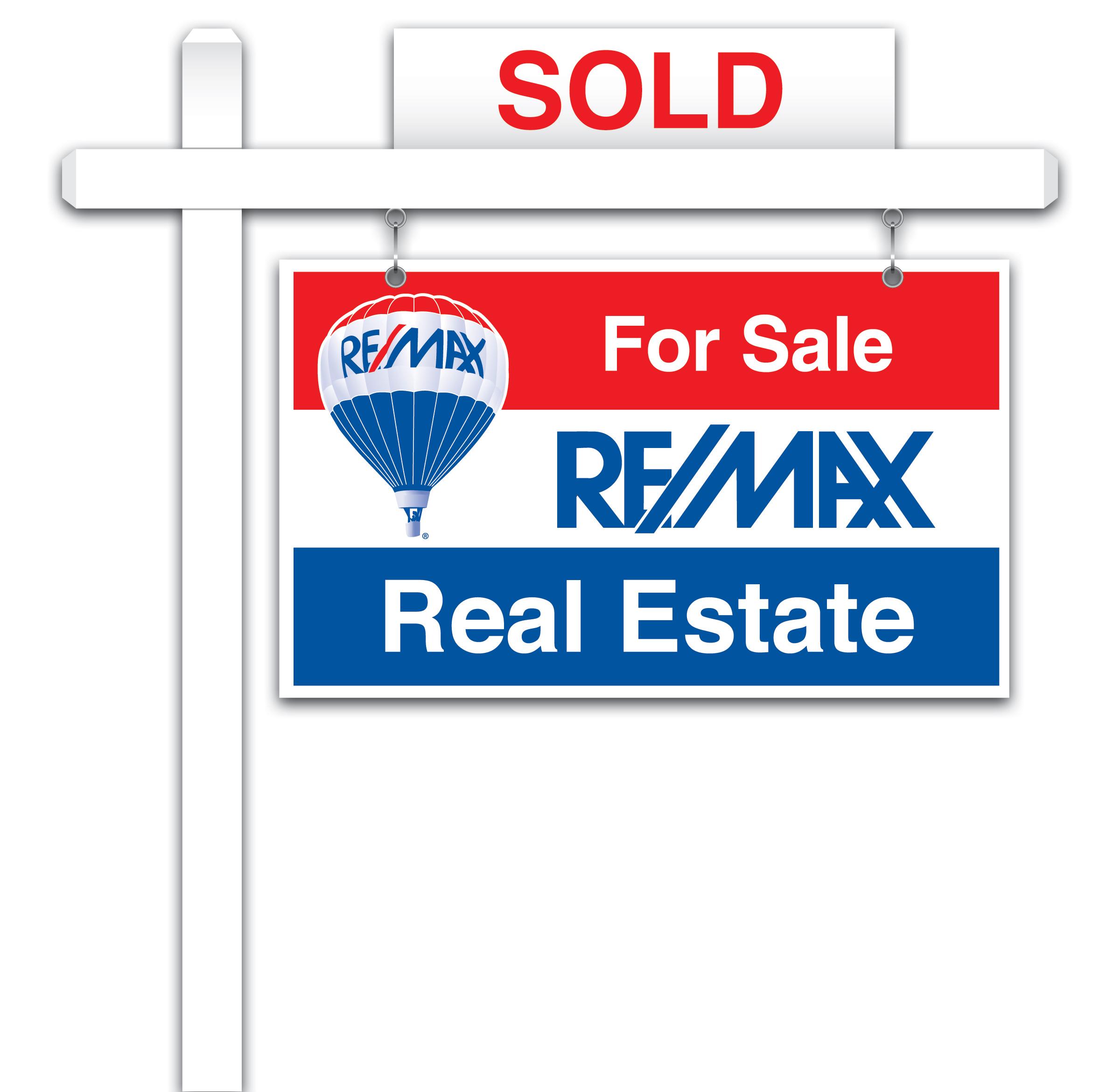 Sold Sign Clip Art.