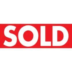 Similiar Sold Sign Keywords.