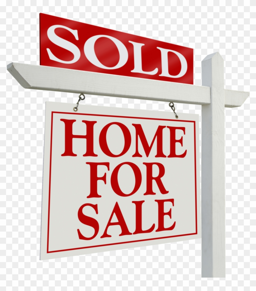 House Sold Sign, HD Png Download.