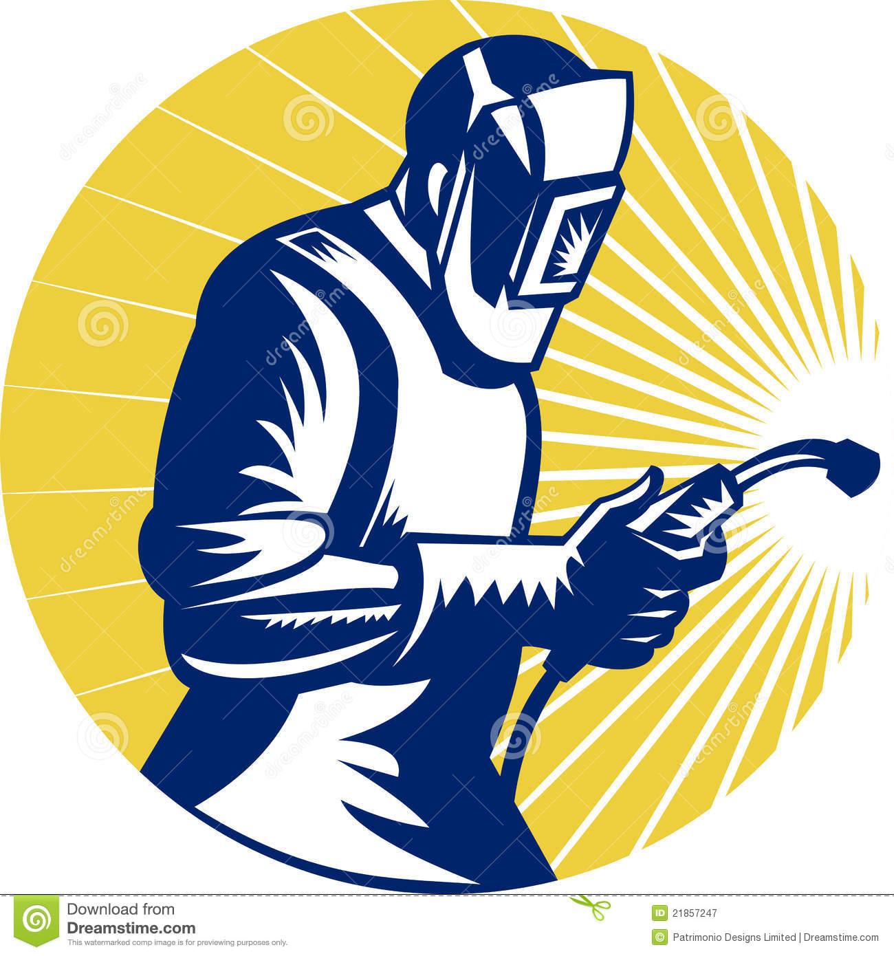 Welding Work Clipart.