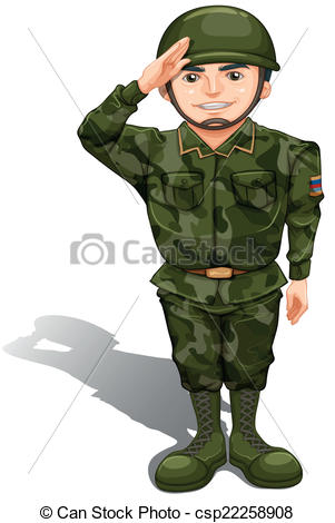 Free Cartoon Soldier Clip Art, Soldier Free Clipart.