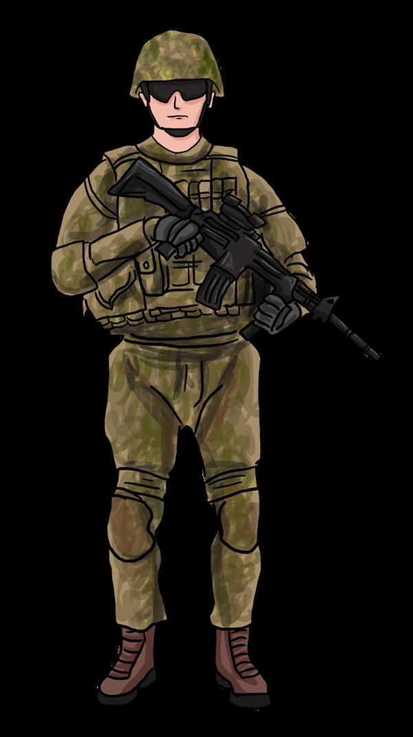 Soldier Clip Art Images.